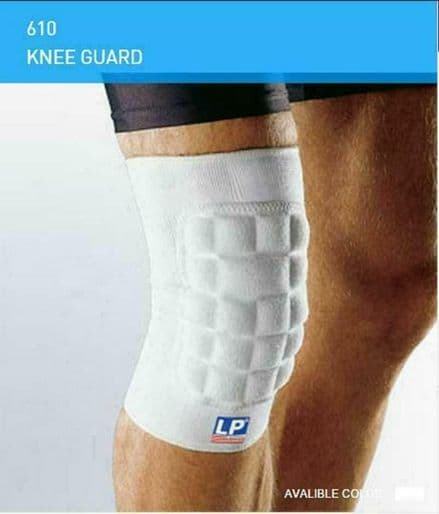 LP 610 Padded Knee Support (Pair)  Shock Absorber MMA Injury Martial Arts